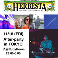 11/8 渋谷 HERBESTA Petit After-party in TOKYO